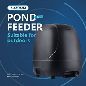 Chargeur automatique de poissons minuterie haute capacité de bassin de nourriture pour poissons Siutable pour extérieur de la marque LONDAFISH image 0 produit