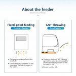 Chargeur automatique de poissons minuterie haute capacité de bassin de nourriture pour poissons Siutable pour extérieur de la marque LONDAFISH image 1 produit