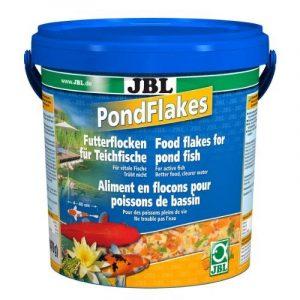 JBL 40199 Nourriture principale pour tous les poissons de bassin, flocons pour bassin, 1 pack de 10,5l de la marque JBL image 0 produit