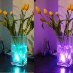 Lumière submersible de LED 2 pièces avec la télécommande, lampe multi de couleur imperméable d'Alilimall pour les piscines, bains chauds, vase de base, floral, aquarium, étang, mariage, partie, éclairage de la marque Alilimall image 4 produit