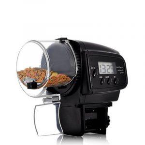 Lysport Automatic Fish Feeder Réservoir de poissons d'aquarium numérique Alimentateur de nourriture Temporisateur Alimentateur d'aquarium électronique Alimentateur automatique pour animaux de compagnie avec affichage à cristaux liquides de la marq image 0 produit
