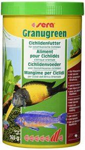 Sera - Granugreen 1L Granulés Riches En Fibres Pour Les Cichlidés de la marque marque+generique image 0 produit