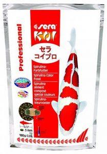 Sera - Koi Professional - Nourriture spécial couleurs pour poissons - Carpes koï - À base de spiruline - 1 x 1 kg de la marque SERA image 0 produit