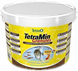 Tetra Poissons Eau Douce Tropicale Aliment Complet TetraMin Granules 10 L de la marque Tetra image 0 produit