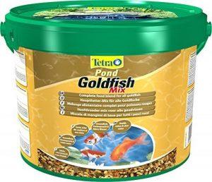 TETRA Pond Goldfish Mix - Aliment Complet pour Poisson Rouge de Bassin de Jardin - 10L de la marque Tetra image 0 produit