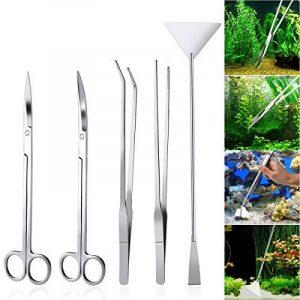 UEETEK 5 en 1 Aquascaping Kit Aquarium Tank Ensemble d'outils pour Plantes Aquatiques de la marque UEETEK image 0 produit